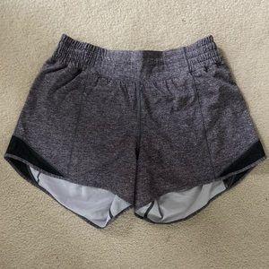 """Lululemon Hotty Hot *High Rise (Long) 4"""" Shorts"""